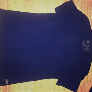 Figs LE Navy Blue Top
